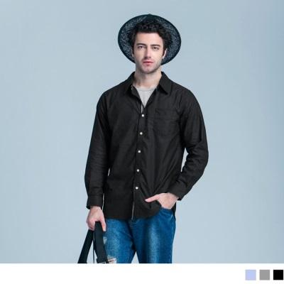 0603新品 織帶配色造型長袖襯衫‧3色