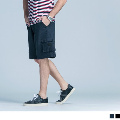 0505新品 立體口袋設計休閒短褲‧2色