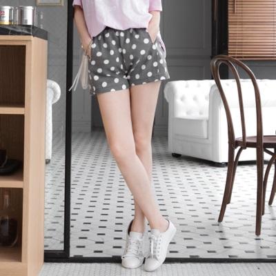 0428新品 親子裝系列~滿版圓點鬆緊短褲‧1色