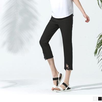 0530新品 寬鬆感破損設計男友風牛仔褲•2色