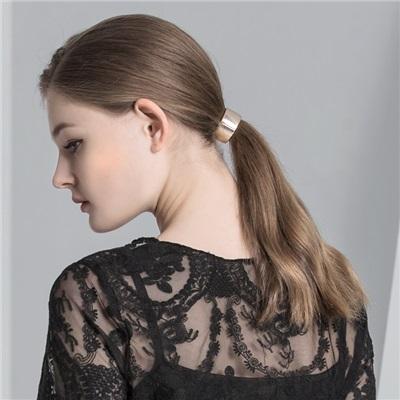 0523新品 質感金屬彈性髮圈.1色