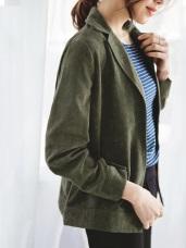 純色磨毛手感襯衫/外套