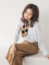 直條織紋涼感襯衫