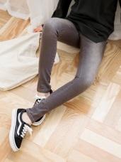 質感刷色破損感設計長褲