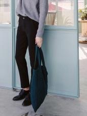 加厚雙層質感西裝直筒褲