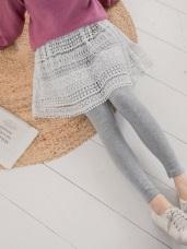 柔軟蕾絲設計內搭褲