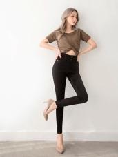 3D立體塑型視覺顯瘦收腹百搭窄管褲