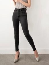 3D立體塑型視覺顯瘦經典牛仔窄管褲