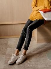 3D立體塑型視覺修身內刷毛-5KG牛仔窄管褲