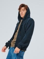 溫暖內磨毛拉鍊連帽外套‧男12色
