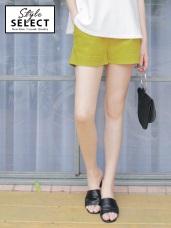 台灣製造~舒適彈性斜紋腰圍鬆緊褲管反褶休閒短褲.5色