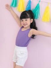 台灣製造~冰咖啡紗涼感抗UV背心(童裝