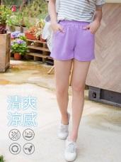 台灣製造~WINCOOL涼感防曬腰鬆緊短褲