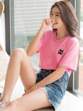 黃阿瑪系列~台灣製造.純棉SOCLES刺繡T恤