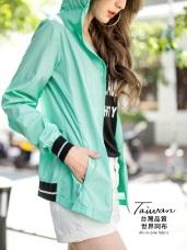 台灣品質.世界同布~袖口伸縮通風防曬運動外套.6色