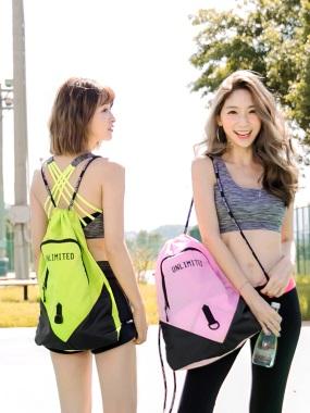 輕防潑水運動型後背包.6色