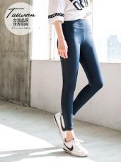 台灣品質.世界同布~透膚拼接20%彈力運動褲.2色
