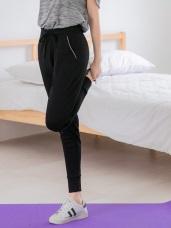 台灣製造~吸濕排汗縮口運動長褲