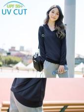 台灣製造~吸濕排汗抗UV長袖連帽運動上衣