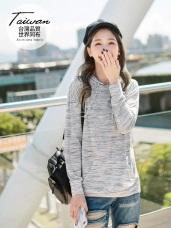 台灣製造~吸濕排汗花紗造型連帽運動上衣