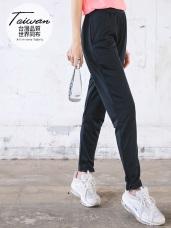台灣製造~隱藏式印花布吸濕排汗運動褲