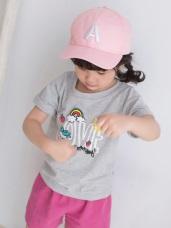 字母純色休閒棒球帽