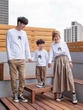 全家福系列~親子款高棉星星Logo印花上衣
