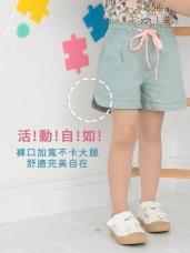 簡潔百搭配色高含棉休閒短褲