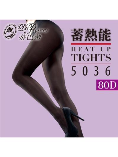 蒂巴蕾-蓄熱能5036美腿科研Heat up tights-80D