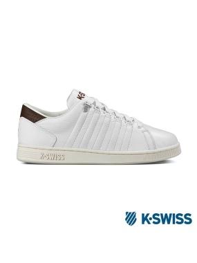 K-Swiss Lozan III休閒運動鞋-男-白/咖啡