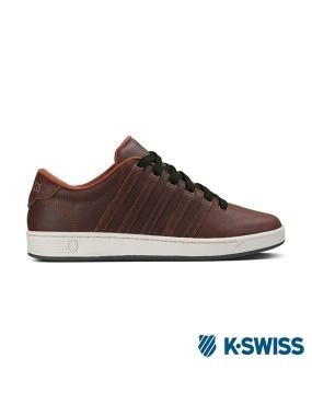 K-Swiss Court Pro II C CMF休閒運動鞋-男咖啡/墨綠