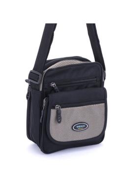 DF Queenin -運動休閒風多層收納隨身側背包-共3色