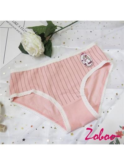 ZOBOO-條紋可愛馬日系內褲(UN551)