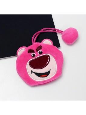 DISNEY 大頭造型絨毛鑰匙包-熊抱哥(A-PLUS)