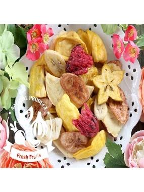 愛上新鮮-綜合水果脆片