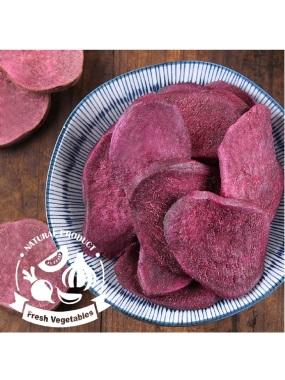 愛上新鮮-天然紫薯脆片