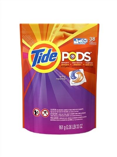 美國原裝進口Tide太漬 3合1洗衣凝膠球