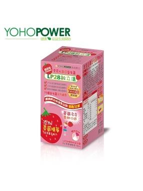 悠活原力-LP28敏立清益生菌(30條入/盒)-草莓多多