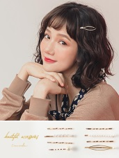 韓國氣質仙氣女神珍珠4組髮夾