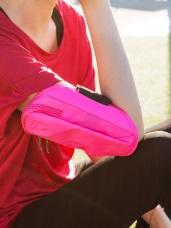 螢光防水面橢圓運動手臂包
