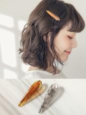 琉璃花紋髮夾