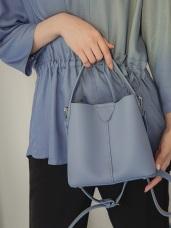 純色質感子母單肩斜背包/手提包